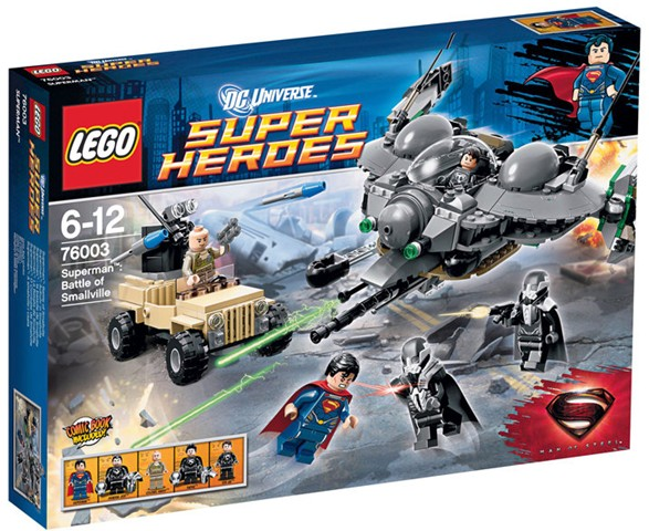 LEGO Superman: Battle of Smallville set 76003
