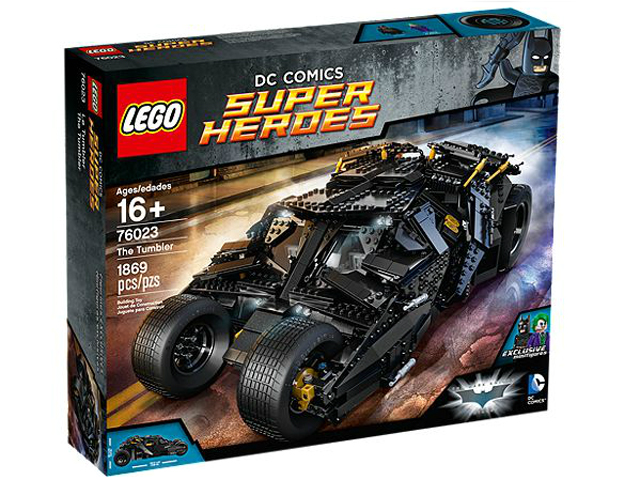 LEGO Super Heroes Batman The Tumbler set 76023, sold by Brick Loot.