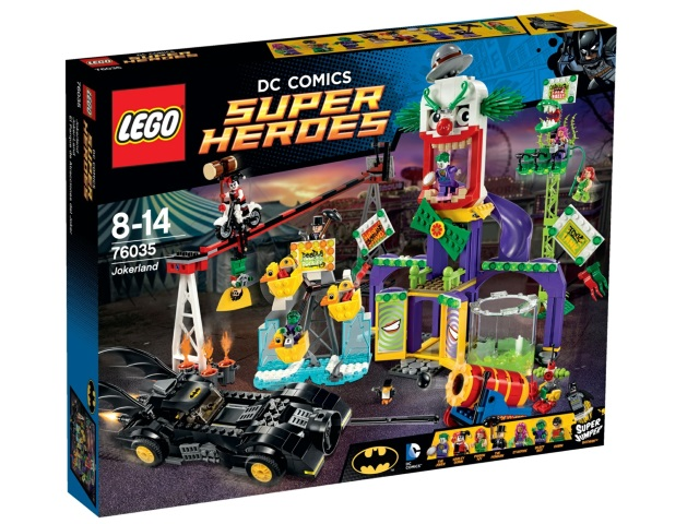 LEGO Batman II Jokerland set 76035