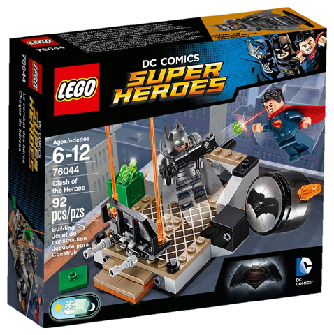 LEGO Super Heroes: Dawn of Justice: Clash of the Heroes set 76044
