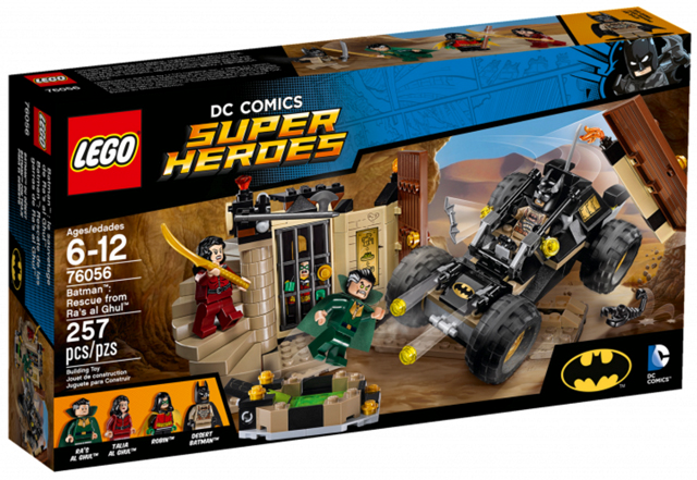 LEGO Super Heroes: Batman II: Rescue from Ra's al Ghul 76056 - CEO Parker's LEGO Collection - Brand NEW Sealed
