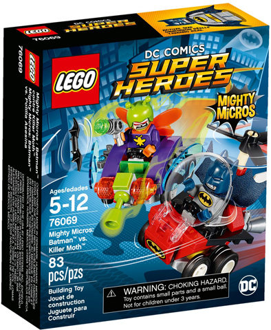 LEGO Super Heroes: Mighty Micros: Batman II: Mighty Micros: Batman vs. Killer Moth set 76069