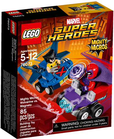 LEGO Super Heroes: Mighty Micros: Wolverine vs. Magneto set 76073