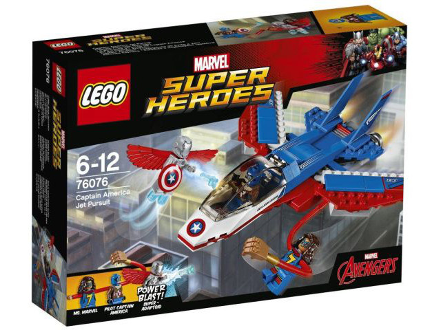LEGO Super Heroes: Avengers: Captain America Jet Pursuit 76076  - CEO Parker's LEGO Collection - Brand NEW Sealed