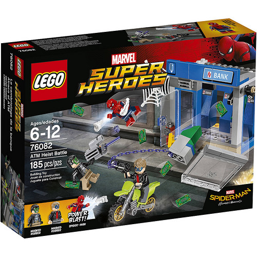 LEGO Super Heroes: Spider-Man Homecoming: ATM Heist Battle 76082 - CEO Parker's LEGO Collection - Brand NEW Sealed