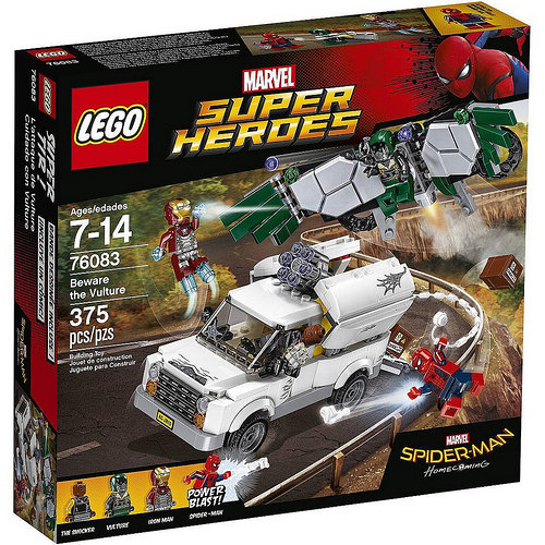 LEGO Super Heroes: Spider-Man Homecoming: Beware the Vulture 76083 - CEO Parker's LEGO Collection - Brand NEW Sealed
