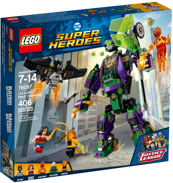 LEGO Super Heroes: Justice League Lex Luthor Mech Takedown 76097 - CEO Parker's LEGO Collection - Brand NEW Sealed