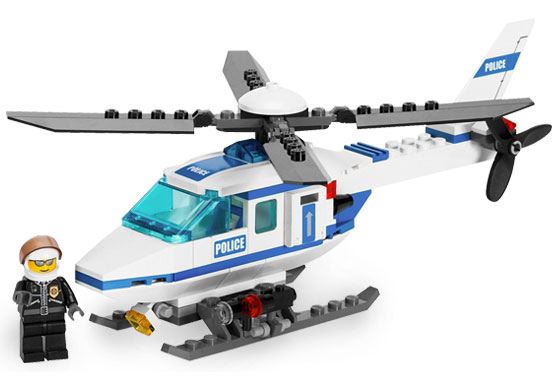 LEGO City Police Helicopter 7741 - CEO Parker's LEGO Collection - Used LEGO Complete