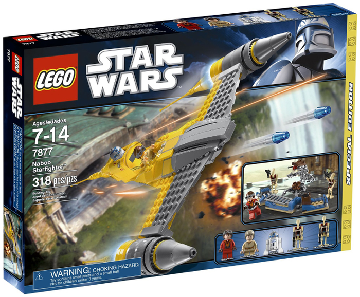 LEGO Star Wars: Star Wars Episode 1: Naboo Starfighter set 7877