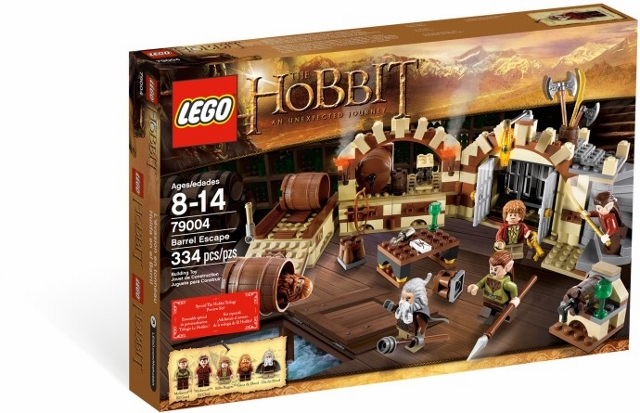 LEGO The Hobbit and the Lord of the Rings: The Hobbit: Barrel Escape 79004