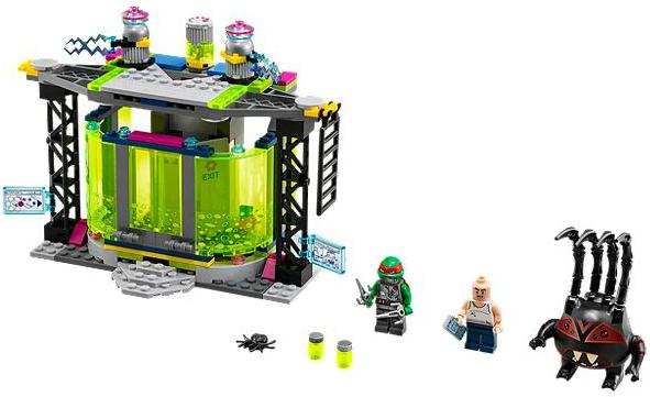 LEGO Teenage Mutant Ninja Turtles: Mutation Chamber Unleashed 79119 - CEO Parker's LEGO Collection - Used LEGO Complete