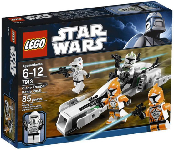 LEGO Star Wars The Clone Wars: Clone Trooper Battle Pack 7913  - CEO Parker's LEGO Collection - Brand NEW Sealed