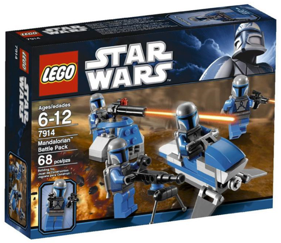 LEGO Star Wars The Clone Wars: Mandalorian Battle Pack 7914  - CEO Parker's LEGO Collection - Brand NEW Sealed