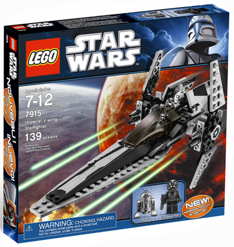 LEGO Star Wars Legends: Imperial V-wing Starfighter set 7915
