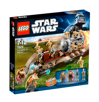 LEGO Star Wars Episode 1: The Battle of Naboo set 7929