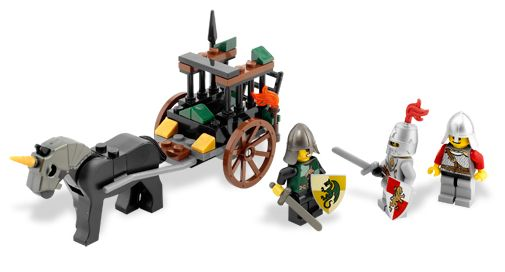 LEGO Castle: Kingdoms: Prison Carriage Rescue 7949 - CEO Parker's LEGO Collection - Used LEGO Complete
