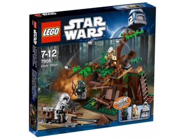LEGO Star Wars Episode 4/5/6: Ewok Attack set 7956