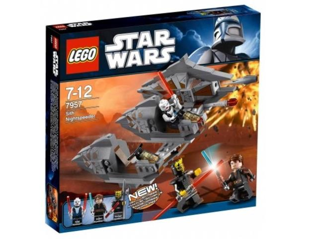 LEGO Star Wars The Clone Wars: Sith Nightspeeder set 7957