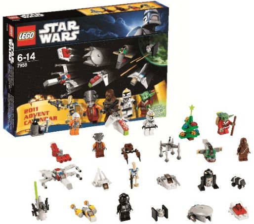 LEGO Holiday & Event: Advent: Star Wars: Advent Calendar 2011 set 7958