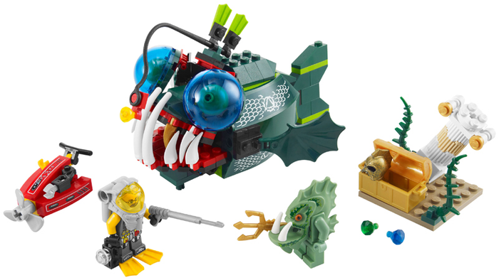 LEGO Atlantis: Angler Attack 7978 - CEO Parker's LEGO Collection - Used LEGO Complete