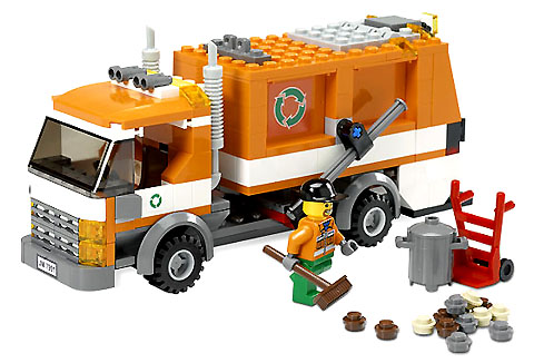 LEGO City: Traffic: Recycle Truck 7991  - CEO Parker's LEGO Collection - Used LEGO Complete