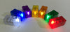 LED Colored Bricks - 7 pack with all colors