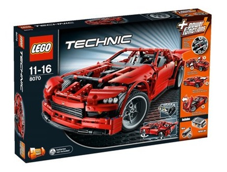 LEGO Technic Supercar set 8070
