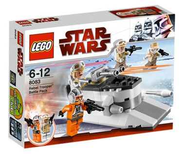 LEGO Star Wars Episode 4/5/6: Rebel Trooper Battle Pack set 8083