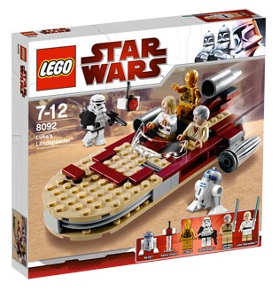 LEGO Star Wars Episode 4/5/6: Luke's Landspeeder set 8092