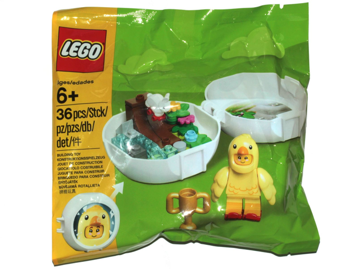 LEGO Polybag - Holiday Easter Chicken Skater Pod set 853958
