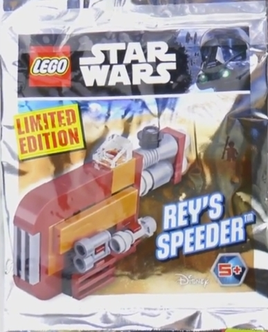 LEGO Polybag -  Star Wars Episode 7: Rey's Speeder foil pack 911727