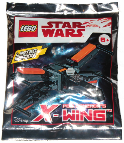 LEGO Polybag -  Star Wars Episode 7 Poe Dameron's X-Wing foil pack 911841