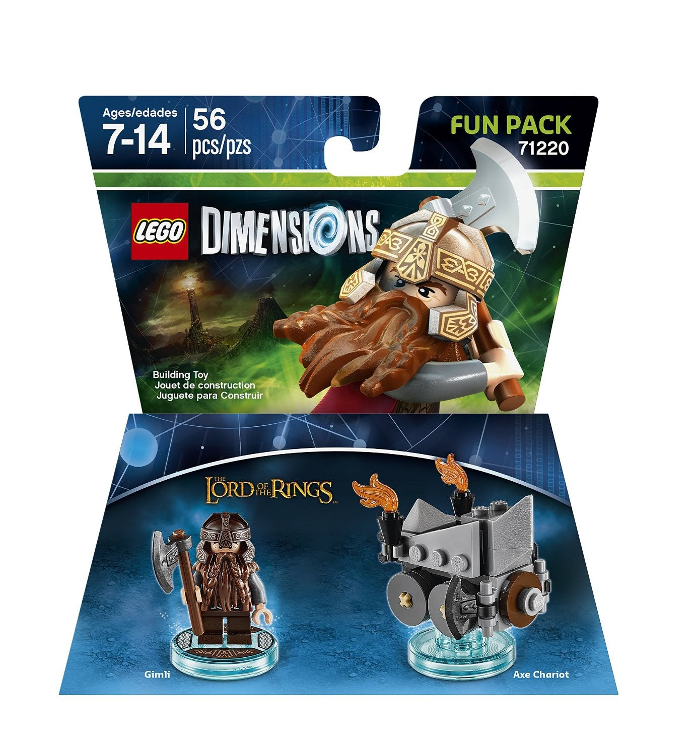 LEGO Dimensions Fun Pack - GIMLI - Lord of the Rings 71220