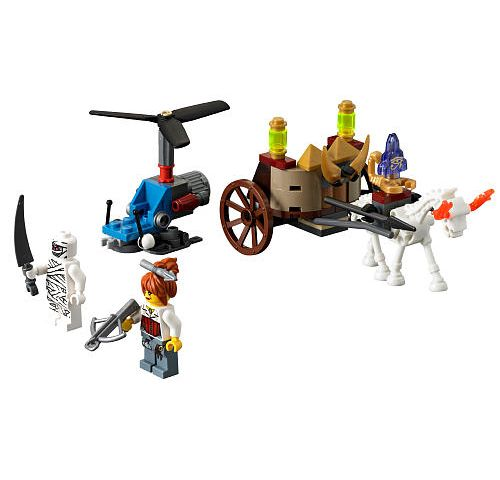 LEGO Monster Fighters: The Mummy 9462 - CEO Parker's LEGO Collection - Used LEGO Complete
