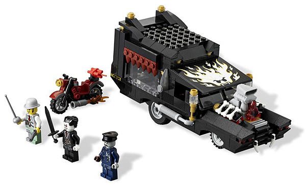 LEGO Monster Fighters: The Vampyre Hearse 9464 - CEO Parker's LEGO Collection - Used LEGO Complete