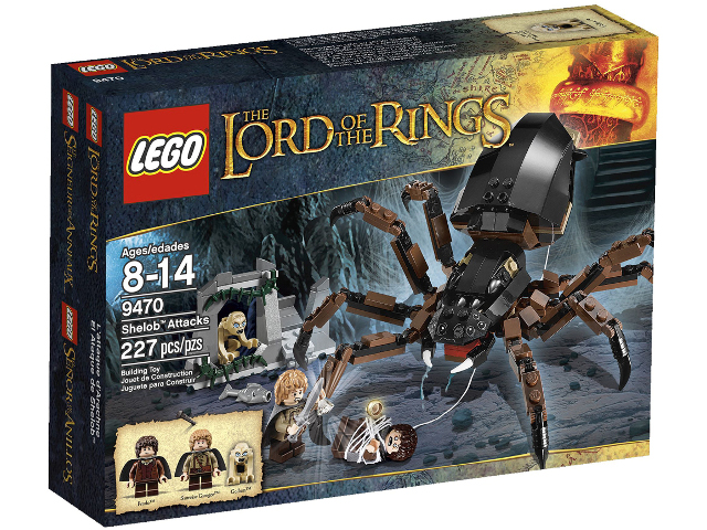 LEGO The Hobbit and the Lord of the Rings: Shelob Attacks set 9470