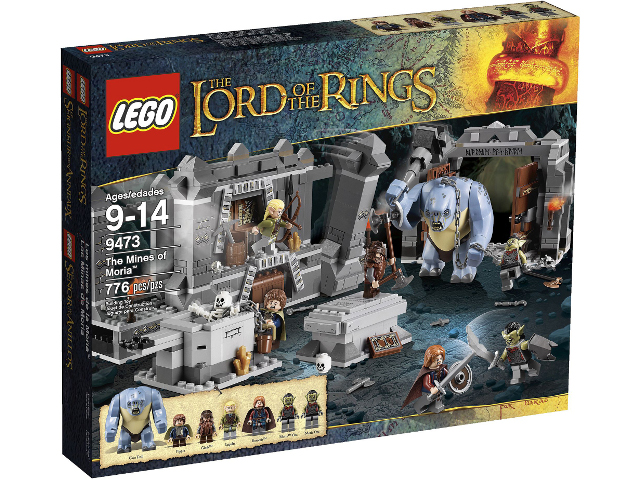LEGO The Hobbit and the Lord of the Rings: The Mines of Moria set 9473