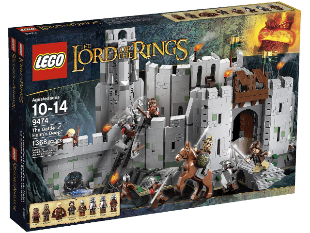 LEGO The Hobbit and the Lord of the Rings: The Battle of Helm's Deep set 9474