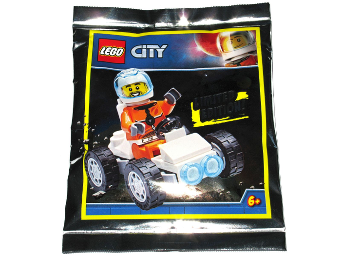LEGO Polybag -  Town: City: Space Port: Astronaut with Space Buggy foil pack 951911