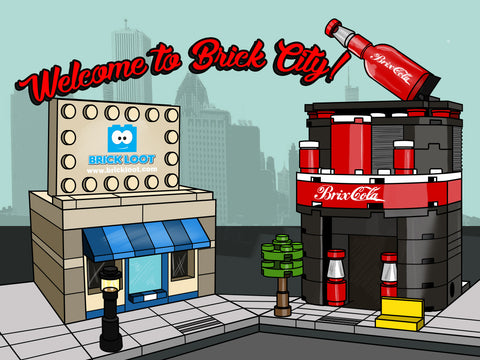 April 2017 Brick Loot Box  - Brick City
