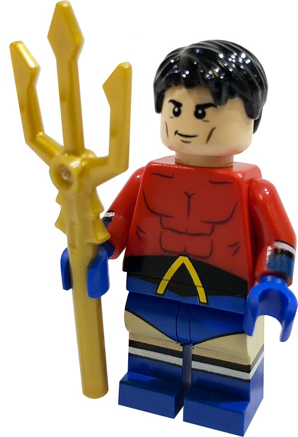 Trident fork for Lego Minifigures accessories