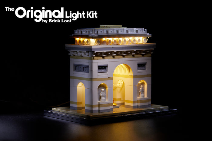 LED Lighting Kit for LEGO Architecture Arc de Triomphe 21036