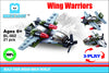 Exclusive Brick Loot Wing Warriors BL-002 3-Play Set