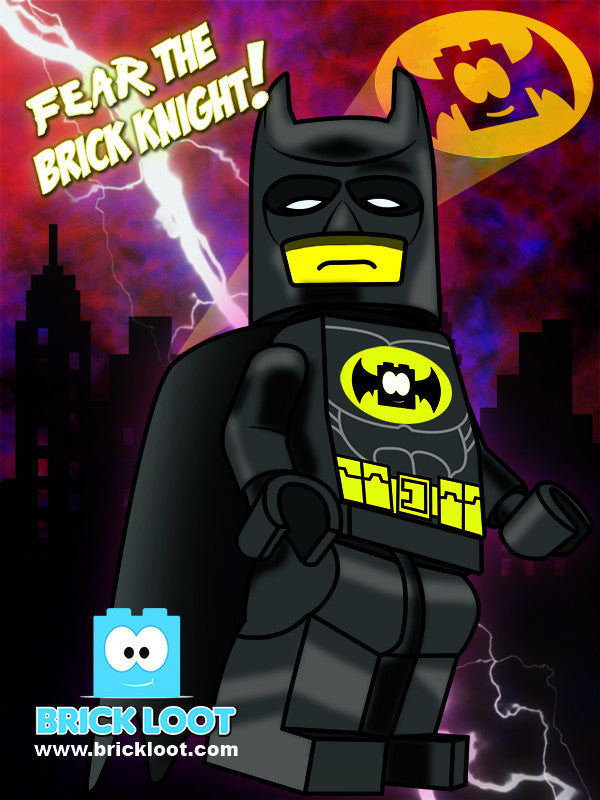 February 2017 Brick Loot Box  - Fear the Brick Knight