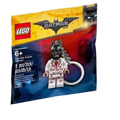 LEGO BATMAN MOVIE Kiss Kiss Tuxedo Key Chain 5004928
