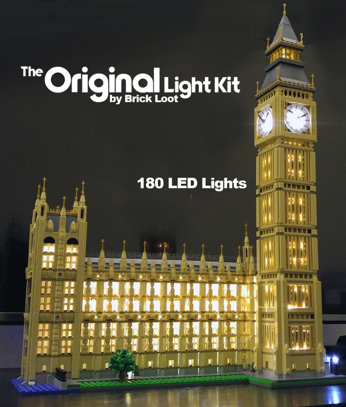 LED Lighting kit for LEGO® 10253 London Big Ben