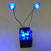 LED Iron Man Lights Blue with 2x3 Battery Brick