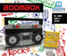 Brick Loot Custom Brick Set Boom Box 100% LEGO Compatible Bricks