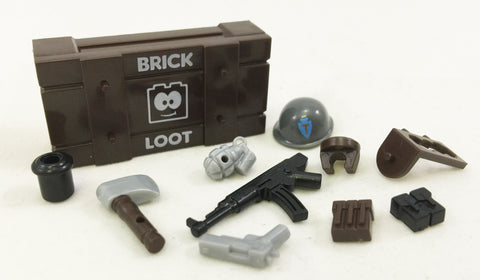Custom Exclusive BrickForge Brick Loot Crate and Weapons Pack - LIMITED EDITION