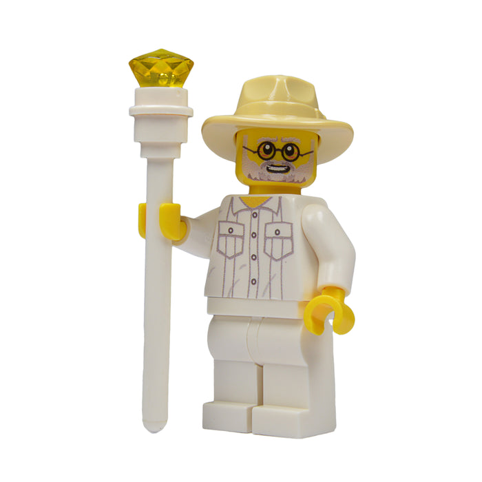 Brick Loot Exclusive Creator of the Park Custom LEGO® Minifigure LIMITED EDITION